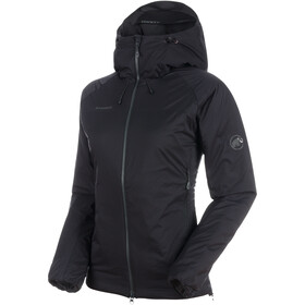 Mammut Rime IN Flex Jas met Capuchon Dames, black-phantom